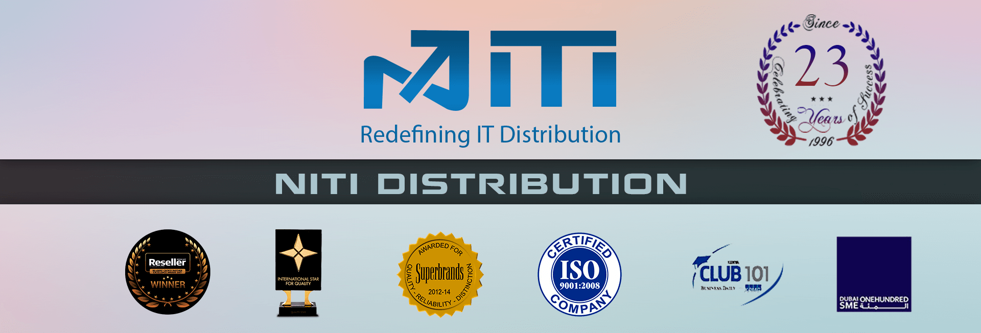 Niti Distributions – Redefining IT Distribution